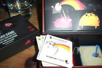 trading cards - 2015 new and hot Explod Kittens Game The original Edition the NSFW Edtion Content The Oatmeal Strategy Cards