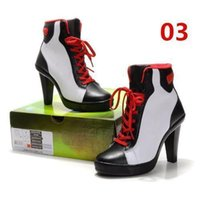 Wholesale Latin Shoes Street dance Shoes Womens Basketball Shoes Womens Fashion High Heel Shoe Black and Red Lady High Heels Cushion Top Quality