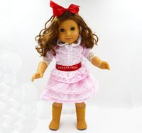 american adaptation - hot sell new style Popular NEW Adaptation American girl inches doll clothes