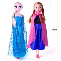 > 3 years old baby doll - Frozen Elsa Anna Dolls Kids Toys For Children Princess Doll Girls Christmas Birthday Gifts Factory Price DA001