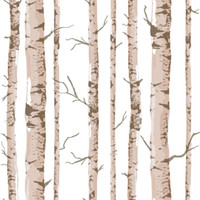 art birch - 2016 New Art Interior Pastoral Style Birch Tree Pattern Vinyl Wall Paper Rolls d Wallpaper Wall Covering D Panel Papel De Parede AB5161