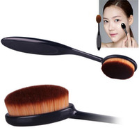 bb good - Good Quality Pro Cosmetic Makeup Face Powder Blusher Toothbrush Curve Foundation Brush Gift for Brauty BB cream makeup brush
