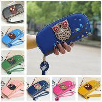 leather owl purse - Fashion New Arrival Korean Cute Girls Women Purse Owl D Print PU Leather Zipper Long Wallet Clutch Card Holder B0042