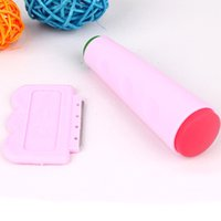 Wholesale 1 Set Nail Art Silica Gel Stamp And Scraper Set Nail Stamping Plates Template DIY Tools XHJ1112W