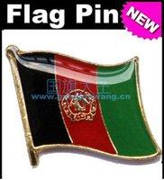 afghanistan flag - Afghanistan Metal Flag Badge Flag Pin