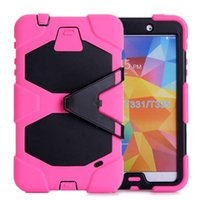 Wholesale Fashion gifts Colors Stand Case For iPad T330 Shockproof Waterproof Case Screen Protecto Touch for Kids Children