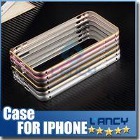arc ericsson - Iphone S S S Plus Samsung Galaxy S6 S6 Plus S6 Edge S5 S4 Note A7 Metal Bumper Frame Slim Aluminium Alloy Arc Protector Case Cover