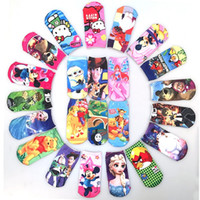 cartoon children socks - 20 Cartoon Printing Socks Children New Fashion Minions Socks Boys and Girls D Cartoon Socks Kids Lovely Socks Kids Fashion Socks