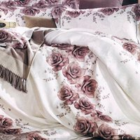 Cheap Quilts family of four Best Rose Print