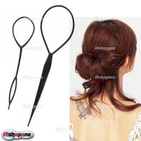 Wholesale 100x set Magic Large Small Topsy Tail Hair Braid Ponytail Styling Maker Tool