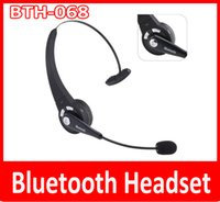 bands wireless headset - Bluetooth Headset BTH For Cell Phone PS3 Trucker Bluetooth V2 Headset G ISM Band PLUS Noise Canceling Handsfree