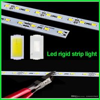aluminum u channel - DHL Fedex m led rigid strip light led bar light SMD5630 DC12V m leds U Channel aluminum slot without cover showcase light