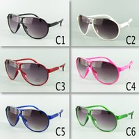 arrival goggles - New Arrival Kids Avaitor Sunglasses Children Sunglasses PC Frame Mixed Colors Kids Size Free Shipment