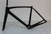 carbon fiber road bike bicycle frame - hotsale SL5 full carbon fiber bike bicycle frame UD t800 frame cm front fork glossy matte finishing