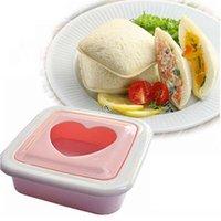 Wholesale Heart Shape Sandwich Bread Toast Maker Mold Mould Cutter DIY Tool B2C Shop