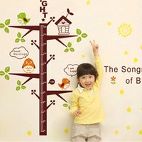 baby height growth - Birds Removable PVC Wall Decal Stickers Baby Height Chart Measure Nursery Kids Room Decor Mural