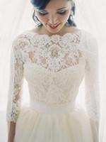 bolero jacket wedding dress - New Arrival Lace Bridal Shrug Wrap Cape Stole Shawl Bolero Jacket For Wedding Dresses Bride Bridesmaid Wedding Dresses Jackets