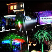 Wholesale Waterproof Outdoor Laser Lights Firefly Lights Landscape Red Green Laser Dot Projector for Lawn and Garden Home Decor Lights