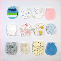 baby scratch mittens - cute newborn baby anti scratch gloves mittens cotton infant products stuff accessories supplies pairs