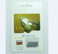 32gb card - Hot selling EVO GB GB GB Micro SD Card Class10 Card TF Card SD Adapter UHS SDXC SDHC For Samsung Smartphone With blister Package
