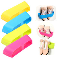 Wholesale Bramd New Colors Creative Adhesive Shoes Rack Wall Hanging Shoes Storage Organizer Hanger