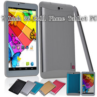 7 inch cell phone - 7 Inch G Cell Phone Tablet PC MTK8312 Dual Core ndroid IPS GB RAM GB ROM MP MP Dual Camera Bluetooth GPS WIFI FM