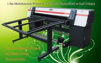 flatbed printer - Multifunction Hybrid UV Printer UV flatbed Roll to Roll Printer m