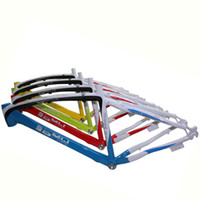 bicycles bmw - BMW Mountain Bike Frames Custom Brand Bicycle Frames Three Colors Stitching Bike Frames on Sale A18