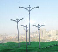 Wholesale 1 Model street lights white light LED12V model lamppost copper metal light