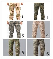 mens training pants - Mens Pants Fan slacks Outdoor Tactical Battle Pants Special tactical training pants Trousers Knee Pads Camping Hiking Hunting pants Comfo