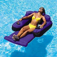 lounges pool - NEW FLOATING POOL LOUNGE BEACH WATER CHAIR SWIMLINE POOL INFLATABLE LOUNGER RAFT