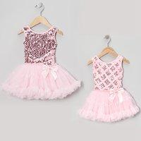 sundresses - 2015 New baby Girl Sequin Princess Dresses Children Glitter Sleeveless Lace Tank Dress summer tutu Bow Sundress kid toddler clothing FS A94