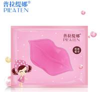 collagen mask - 2000pcs factory price DHL PILATEN Authorized Collagen Crystal Lips Mask Moisturizing Anti Aging Anti Wrinkle Lip Care