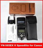 Cheap YONGNUO YN-565EX II TTL Flash Speedlite YN-565EXII for Canon 6D 7D 70D 60D 600D Flashes Free Shipping