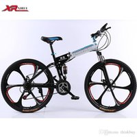 Wholesale Mountain bicycles speed Folding Bikes inch magnesium alloy wheels xirui X6 road bike Outdoor sports for men women kids