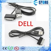 Wholesale Streak mini Streak USB Data Charger Cable PIN Power Supply Adapter Cable for DELL Accessory DHL Free A
