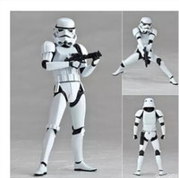 Wholesale Animation hand model Yamaguchi style Star Wars toys Storm Stormtrooper white soldiers movable xmas birthday gift B