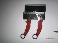 Cheap Folding Blade karambit knife training Best China  Best survival knife 2014