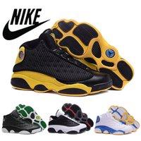 best basketball shoes - Nike dans Mens basketball shoes XIII RETRO Leather Surface basketball shoes Cheap Best Quality Men Sports