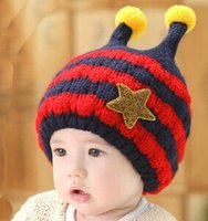 Wholesale crochet kids hats kids funny winter hats kids winter hats ear flaps