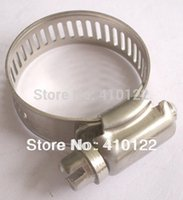 tube clamp - 19 mm American Type Stainless Steel Hose Pipe Clips Tube Clamp