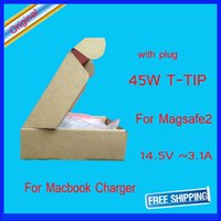 Wholesale 14 V A original for apple w magsafe2 power adapter for macbook air a1436 a1435 charger adapter as genuine