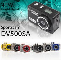 best action cam - Best Quality Gopro Hero Style Mini DV500SA P Sport Action Helmet Camera DV DVR Sport CAM Camcorder Waterproof Camera Better Than SJ4000