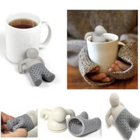 Wholesale Mr Tea Infuser Loose Leaf Strainer Tea Bag Mug Filter New Relaxing Life Hot Selling