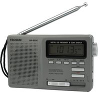 backlight clock radio - TECSUN DR C Portable FM MW SW Band Radio Digital Clock Alarm Night Backlight Y4139H