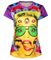 Cheap new 3d t shirt Personalized summer style Funny cute printing Short sleeve 3D tshirt Tops Tees
