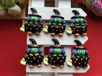 Wholesale Very Hot and Kawaii Resin Halloween witch cabochons FOY DIY mm