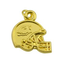 beads arizona - Personalized zinc alloy gold plated Arizona Cardinals team logo charms jewelry
