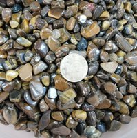 alexandrite gem stone - Natural polished tiger eye gravel stone wood alexandrite nunatak crystal gravel ornamental stone gems stone crystal healing