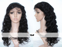 Curly brazilian hair lace front wig - 2015 New Arrival Full Lace Human Hair Wigs Body Wave Brazilian Peruvian Virgin Human Hair Lace Front Wigs Glueless Lace Front Wig